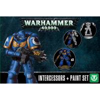 Warhammer: Intercessors + Paint Set