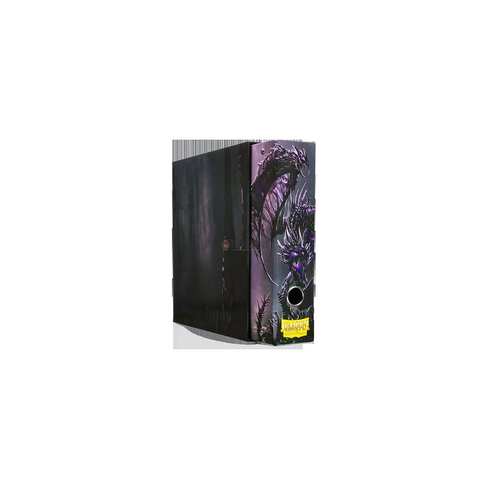 Dragon Shield Slipcase Binder - Black art Dragon
