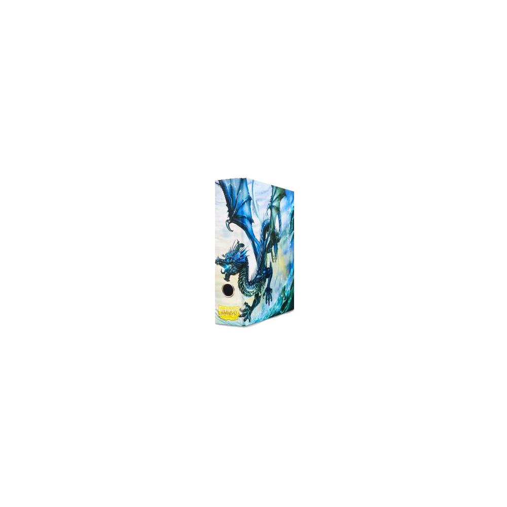 Dragon Shield Slipcase Binder - Blue art Dragon