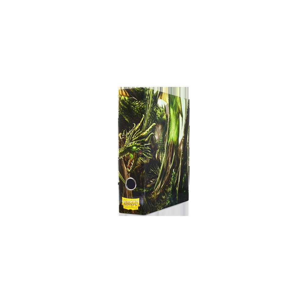 Dragon Shield Slipcase Binder - Green art Dragon