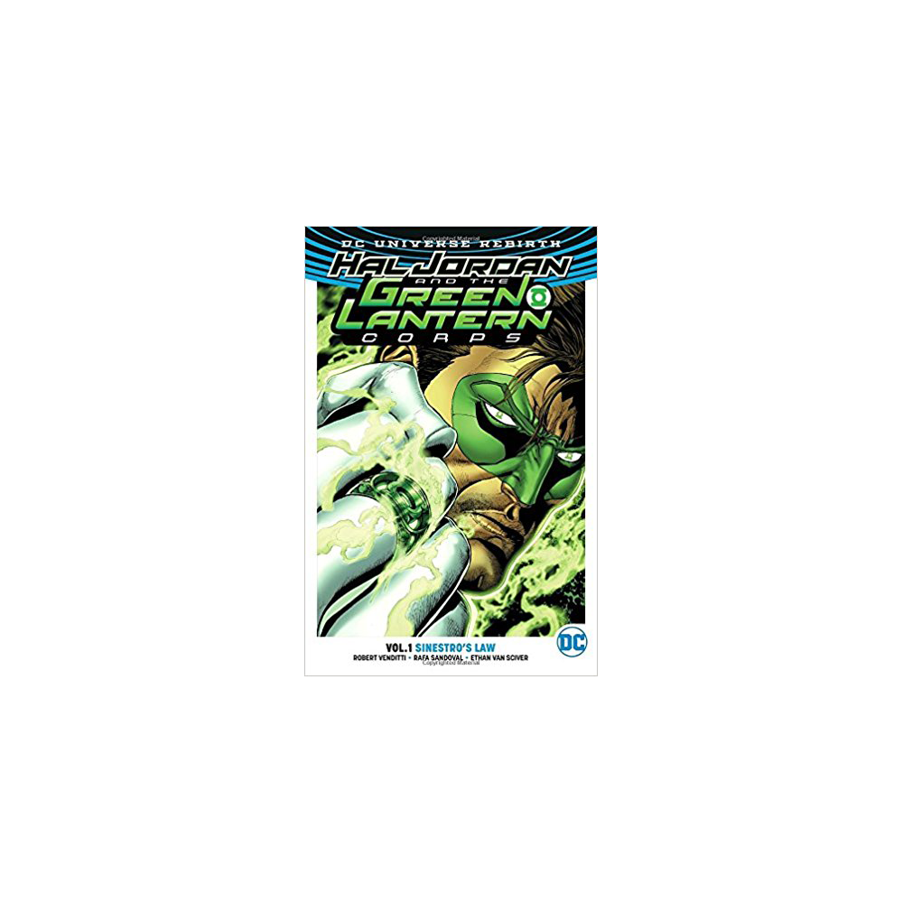 Hal Jordan and The Green Lantern Corps TP Vol 01 Sinestros Law (Rebirth)