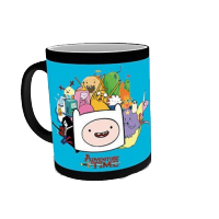 Adventure Time Characters Heat Change Mug