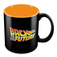 Back to the Future Logo Mug