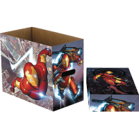 Short Comic Storage Box: Iron Man Flight