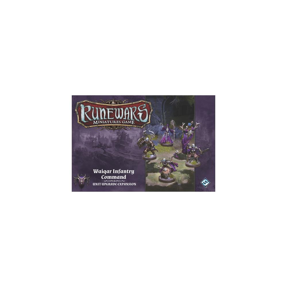 Runewars Miniatures Game - Waiqar Infantry Command