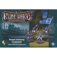 Runewars Miniatures Game - Daqan Infantry Command