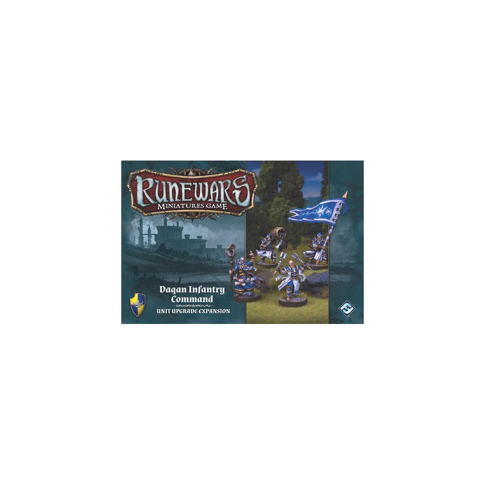 Runewars Miniatures Game - Daqan Infantry Command