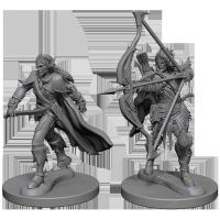 Pathfinder Unpainted Miniatures: Elf Male Fighter