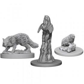 Pathfinder Unpainted Miniatures: Familiars