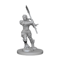 Pathfinder Unpainted Miniatures: Half-Orc Female Barbarian