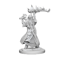 Pathfinder Unpainted Miniatures: Human Female Cleric
