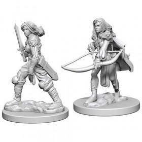Pathfinder Unpainted Miniatures: Human Female Fighter