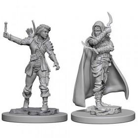 Pathfinder Unpainted Miniatures: Human Female Rogue