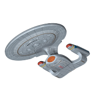Figurină: NYCC 2016 Ex Star Trek TNG Titans Enterprise D