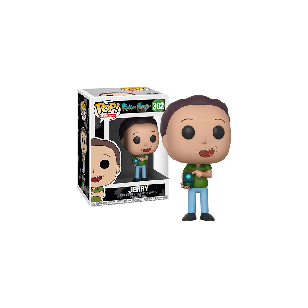 Funko Pop: Rick and Morty - Jerry