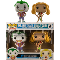 Funko Pop: DC Beach - Joker & Harley
