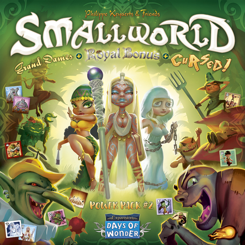 Small World Race Collection: Cursed, Grand Dames & Royal Bonus