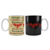 Warhammer Heat Change Mug Pledge