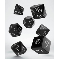 Classic RPG Dice Set black & white