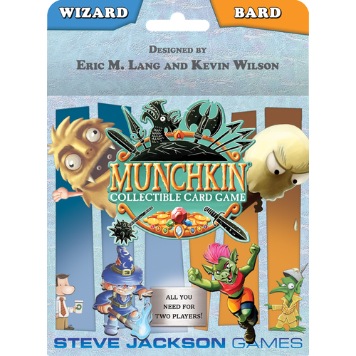 Munchkin CCG: Wizard and Bard Starter Set