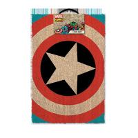 Marvel Comics Doormat Captain America Shield