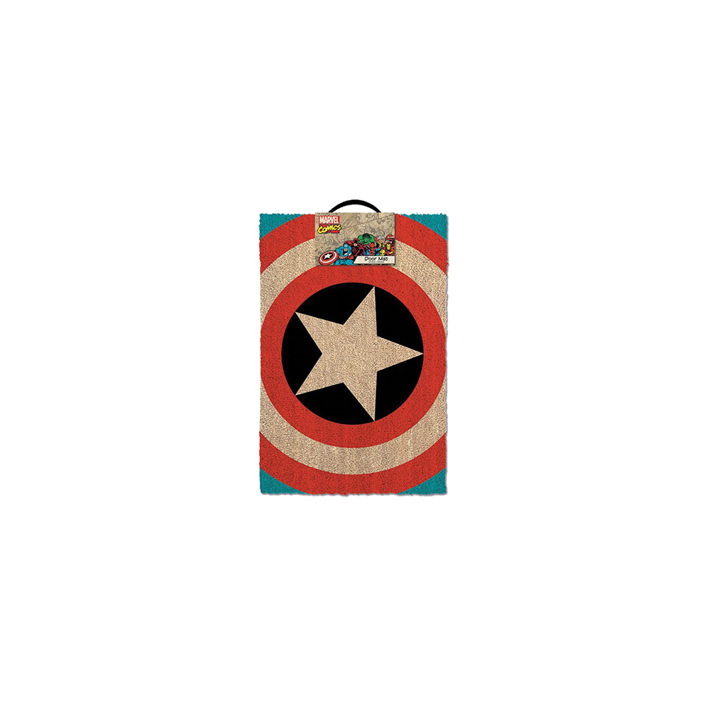 Marvel Comics Doormat Captain America Shield