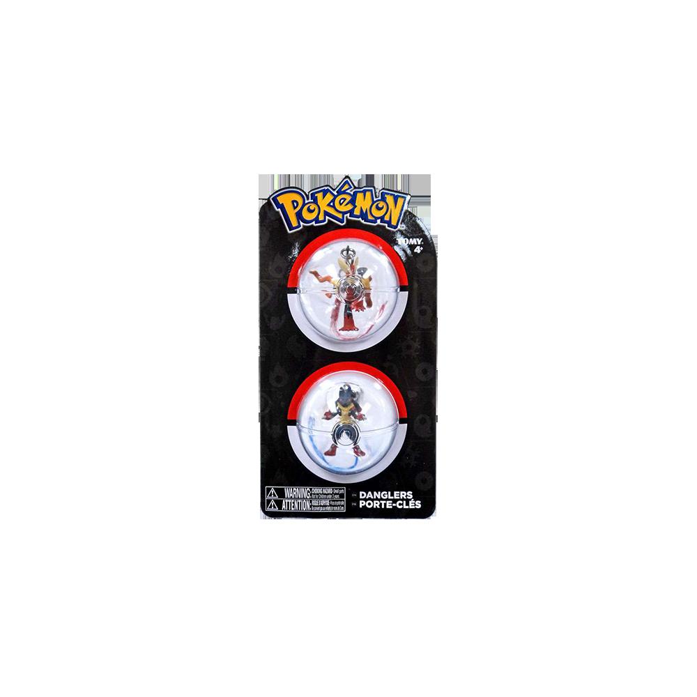 Pokemon Danglers Mega Blaziken & Lucario