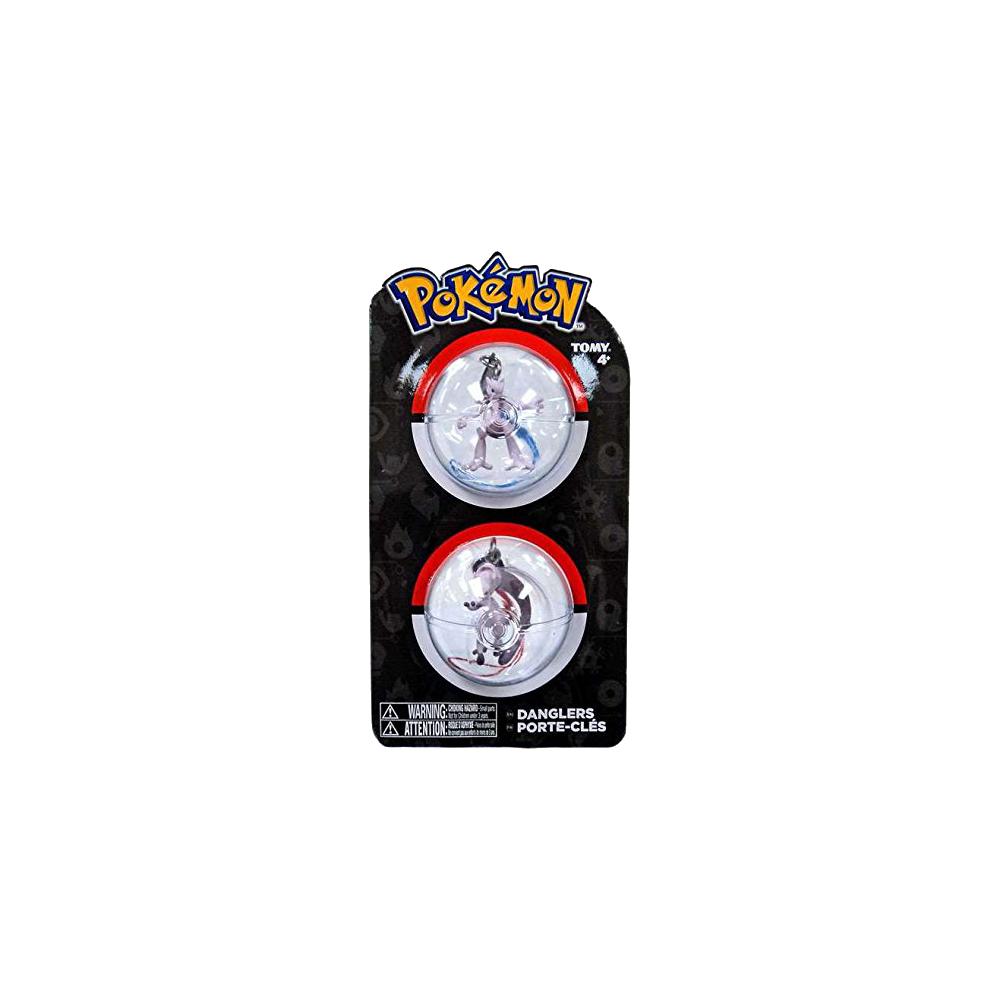 Pokemon Danglers Mewtwo X & Mewtwo Y