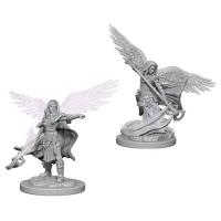 D&D Nolzur's Marvelous Unpainted Miniatures: Aasimar Female Wizard
