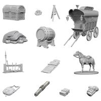 D&D Nolzur's Marvelous Unpainted Miniatures: Adventurer's Campsite