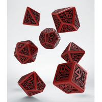 Dwarven Dice Set red & black