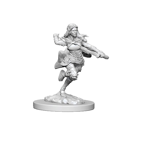 D&D Nolzur's Marvelous Unpainted Miniatures: Air Genasi Female Rogue