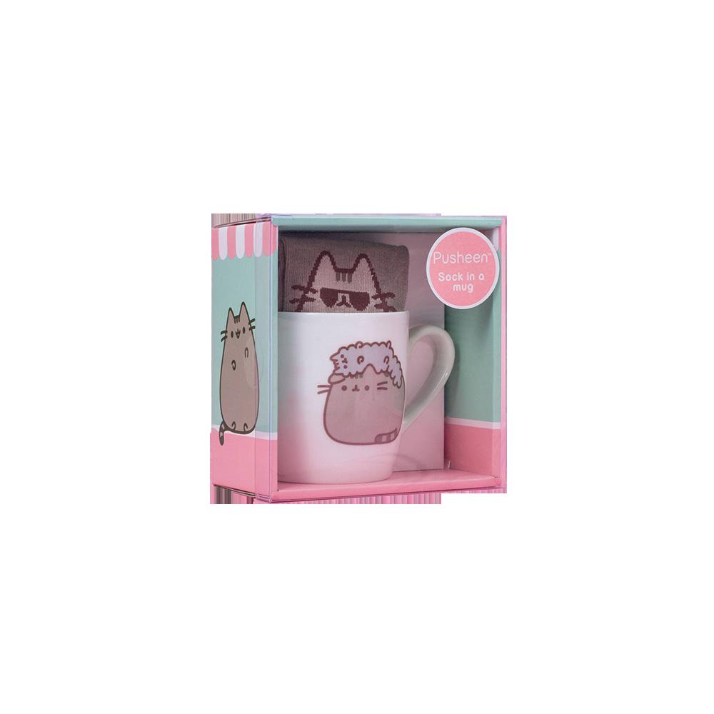 Pusheen Sock in a Mug Pusheen & Stormy
