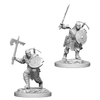 D&D Nolzur's Marvelous Unpainted Miniatures: Earth Genasi Male Fighter