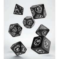 Dragons Dice Set black & white