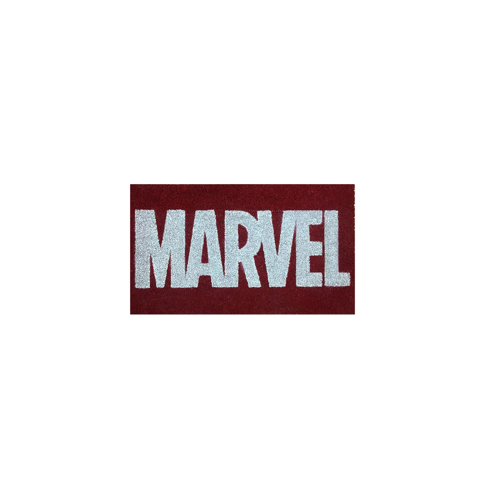 Marvel Comics Doormat Logo