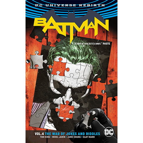 Batman TP Vol 04 The War of Jokes & Riddles (Rebirth)