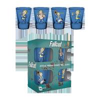 Fallout Premium Shotglass 4-Pack Vault Boy