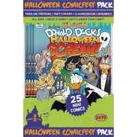 HCF 2017 Donald Duck Halloween Scream 2 Mini Comic