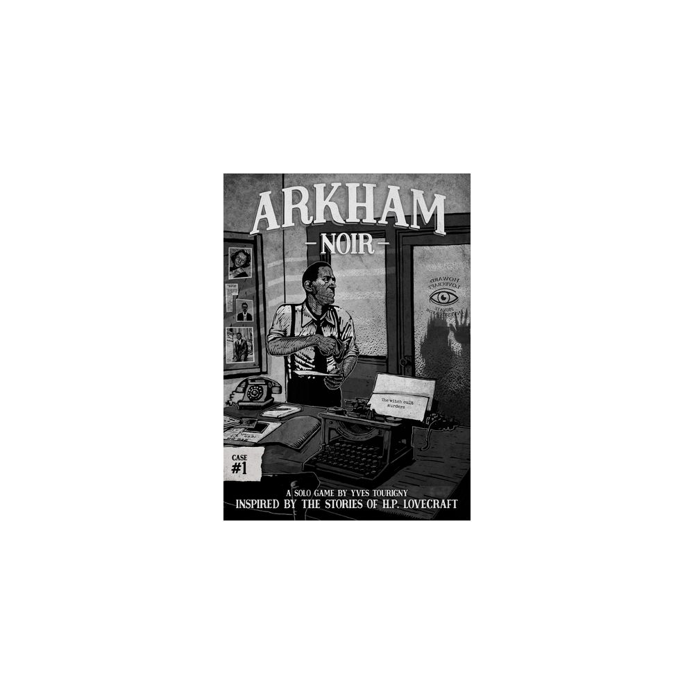 Arkham Noir - The Witch Cult Murders