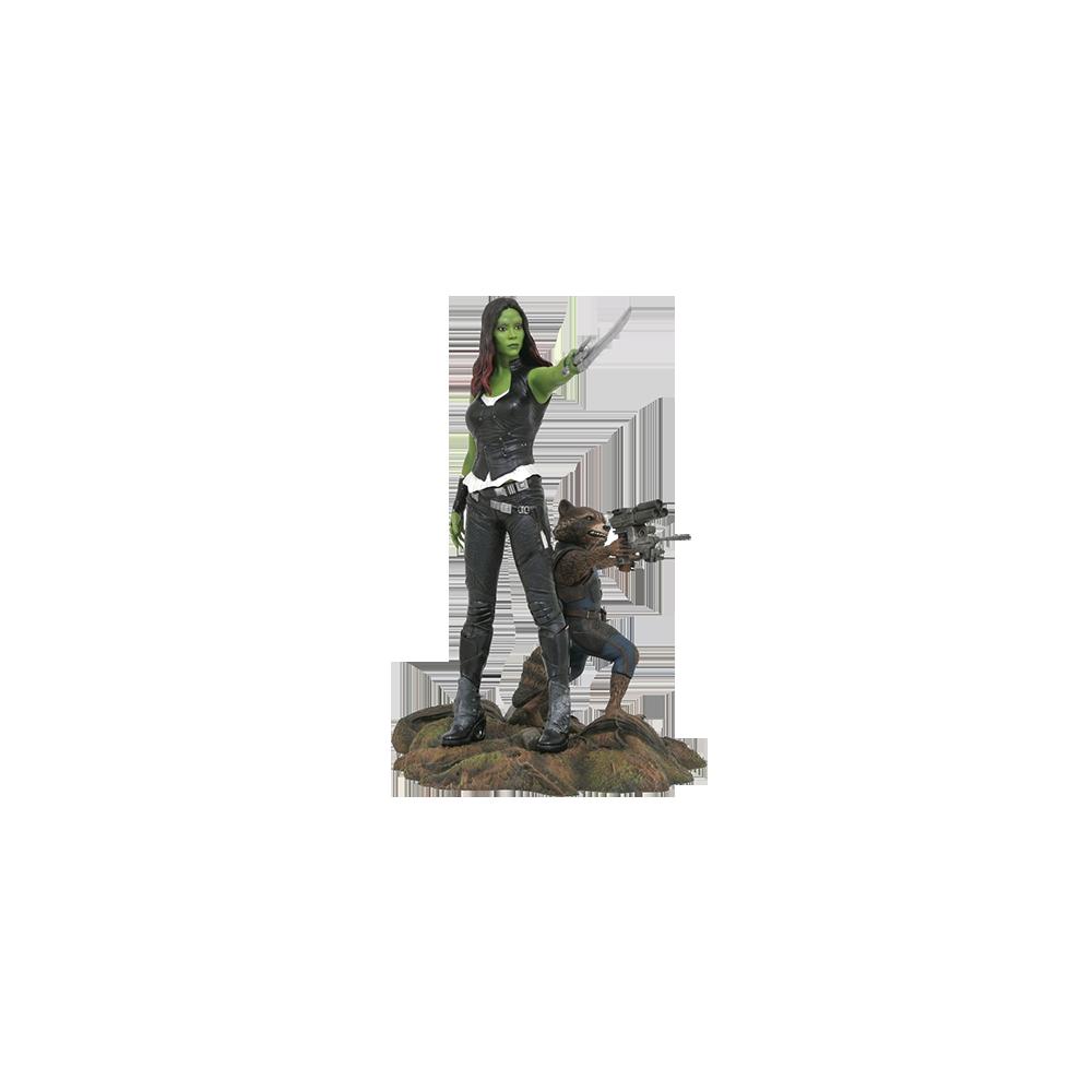 Marvel Gallery Guardians of the Galaxy 2 - Gamora & Rocket Raccoon