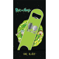 Rick & Morty Bar Blade / Bottle Opener Logo