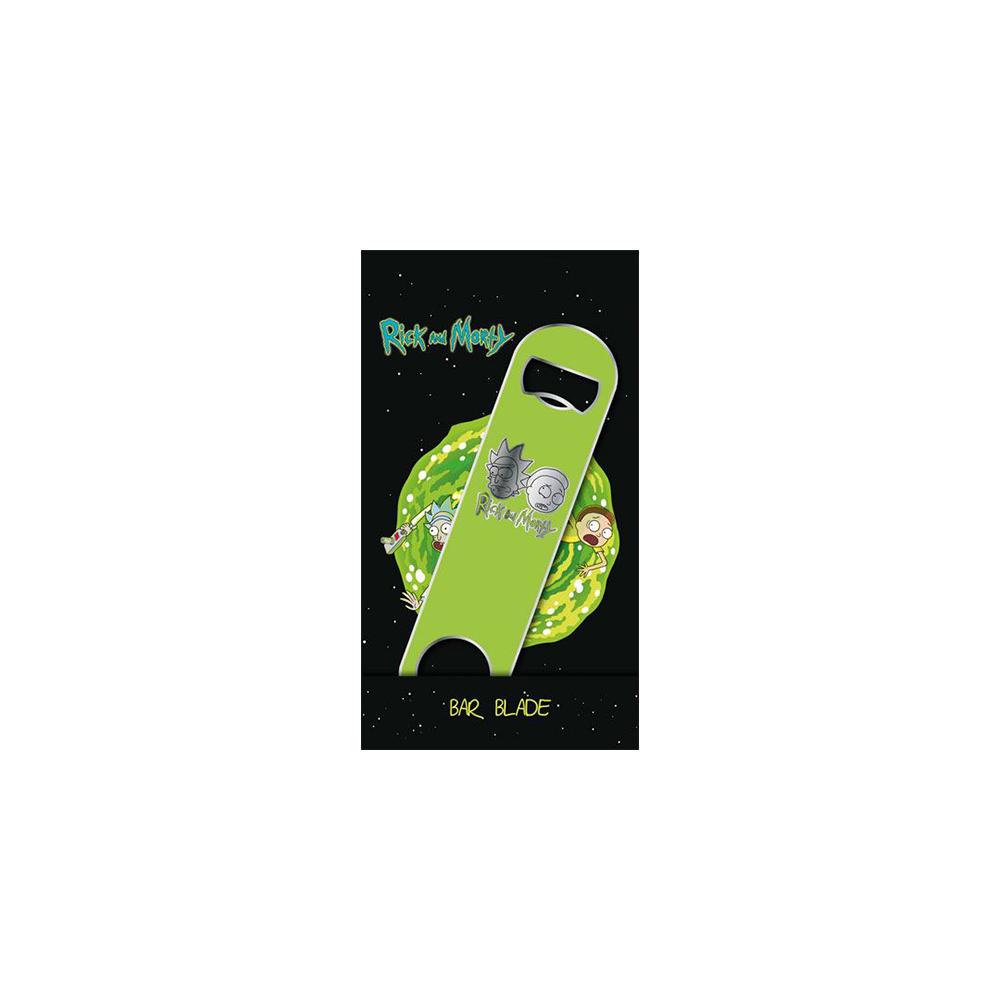 Rick & Morty Bar Blade / Bottle Opener Logo