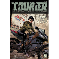 Courier TP Vol 01 Through Theashes