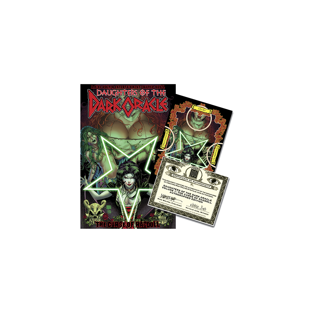 Daughters of The Dark Oracle TP Vol 01 (Signed Edition)