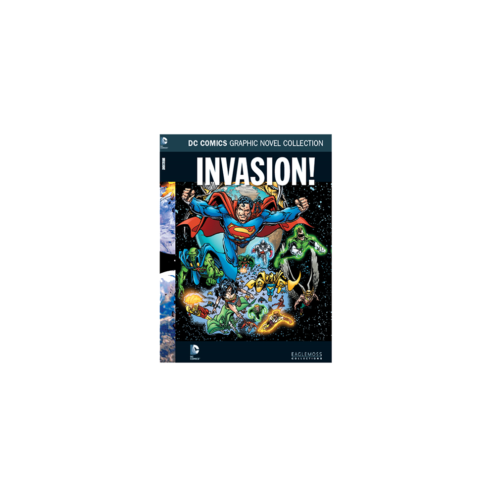 DC Comics Graphic Novel Collection Special Vol 10 HC Invasion
