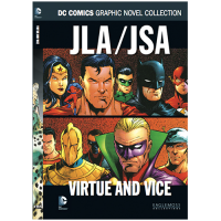 DC Comics Graphic Novel Collection Vol 64 JLA JSA Virtue and Vice