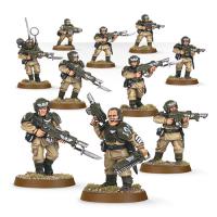 Warhammer: Cadian Infantry Squad