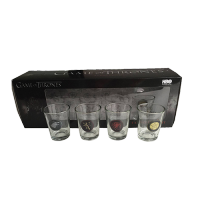 Game Of Thrones Shotglass 4-Pack