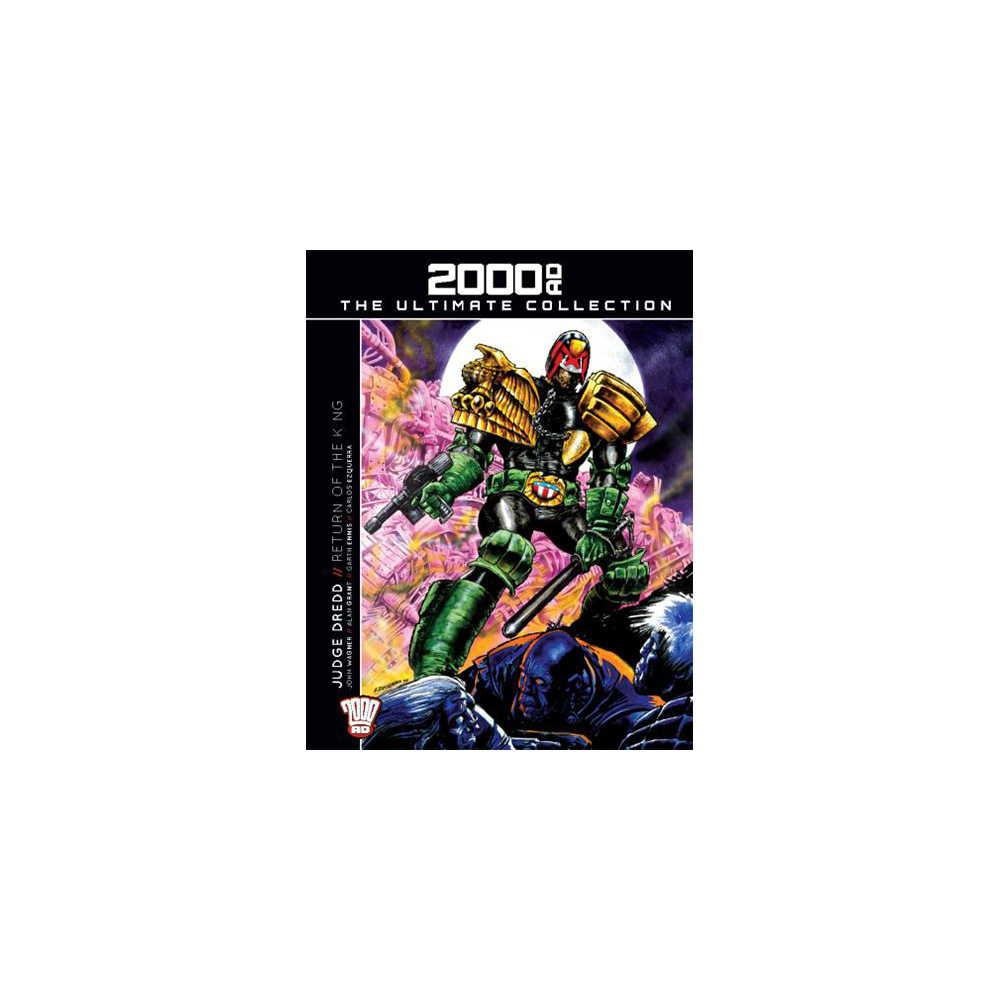 2000 AD Graphic Novel Collection Vol 10 HC Judge Dredd Return of The King